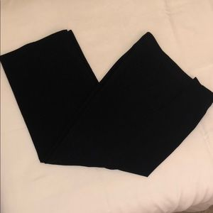 Coldwater Creek Black Trousers—size 12P